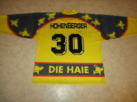 Kölner Haie Original Trikot 1994/95 + Nr.30 Hohenberger + Handsigniert Gr.XL TOP