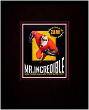 Walt Disney The Incredibles Mr. Incredible Poster Kunstdruck Bild mit Alu Rahmen