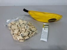 New/Unused - BANANAGRAMS Letter Word Alphabet Tile Board Game Puzzle Learn Kids