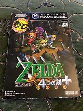 Game Cube Zelda Four Swords +  Japanese Import Version