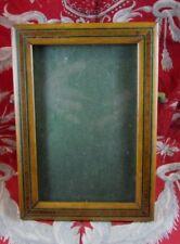 ancien cadre porte photo bois marqueterie a poser ep1900
