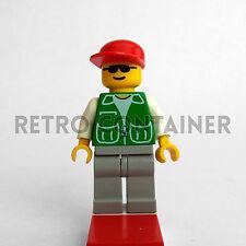 LEGO Minifigures - Passenger - trn029 - Treni Città Town Omino Minifig Set 2150