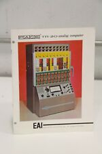 EAI Electronic TR-20 Analog Computer Catalog PACE Book