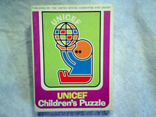 UNICEF CHILDREN'S PUZZLE Jigsaw Complete 9x12 united states committee for unicef