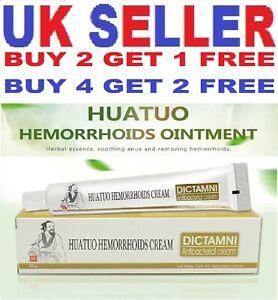 Haemorrhoid Haemorrhoid's Piles Anal Fissure Itch Herbal Antibacterial Cream UK