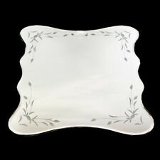 20cm Mirror Bevel Edge Home Decor Ornate Bedroom Hanging Design Gift Wall