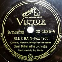 Glenn Miller Orch.: Blue Rain / Caribbean Clipper: Victor 1943 (Jazz)