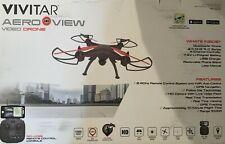 Vivitar Aero View Vijdeo Drone Auto Hover GPS Location Lock Real Time Video 14+
