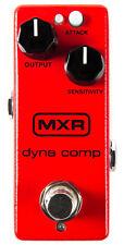 MXR M291 Dyna Comp Mini Compressor Pedal Guitar or Bass Effect Pedal - New