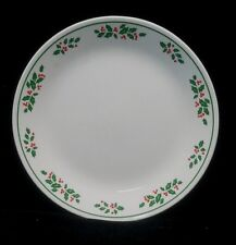 "Two (2) Corning Corelle WINTER HOLLY 10.25"" Dinner Plates (F151) Many Available"
