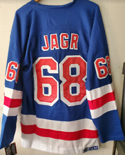 NWT Jaromir Jagr New York Rangers #68 CCM Throwback jersey size 2XL (54) 🔥