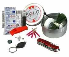 SOLO UK Made Survival Kit Round