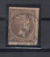 K3704/ GREECE – HERMES – MI # 38a USED – CV 110 $