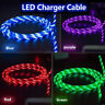 1 * LED Light Micro USB Charger Data Sync Cable for Samsung Android Type C