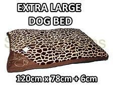 X-Large Cálido Cómodo Cachorro Mascota Perro Gato Almohada Cama Estera cesta Lavable Tiger