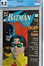 Batman #427*A DEATH IN THE FAMILY**STORY BY JIM STARLIN*CGC GRADE 9.2 Near Mint-