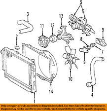 TOYOTA OEM Cooling Fan-Bracket 163070F010