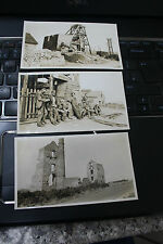 PENDEEN TIN MINE ST JUST   120 X 70  mm b&W original photograph SH SMITH  A TRIO