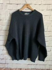 Jackson Bay Sweater, 100% Wool, Navy Blue, Men's XL