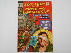 Sgt. Fury And His Howling Commandos #89, (Marvel), 8.0 VF