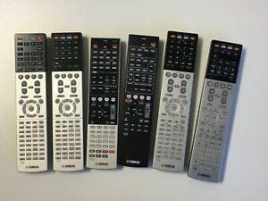 Genuine Yamaha AV Receiver Remote Controls - HTR, RX-V and RX-A receiver models