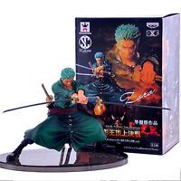Anime One Piece Roronoa Zoro PVC Figure Decisive Battle Ver. Toy Gift in Box