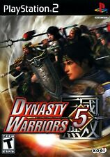 Dynasty Warriors 5 [PlayStation 2 Guan Yu Lei PS2 Koei estrategia Bei Lu Bu] NUEVO