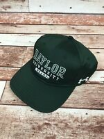 Baylor University Bears Green Men's OSFM Under Armour Baseball Hat Cap NEW
