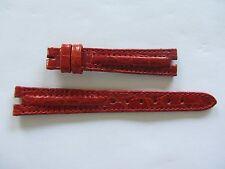 Original Vintage ZENITH Red Leather Watch Strap 14mm New