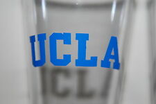 UCLA BRUINS NCAA  4PC PLASTIC PINT SET 16OZ TUMBLER GLASS MADE IN THE USA