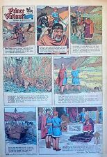Prince Valiant by Hal Foster - scarce full page Sunday comic - March 15, 1970
