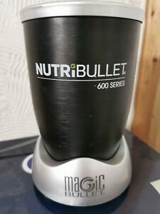NUTRIBULLET 600 SERIES  BASE ONLY GOOD CONDITION. Black/silver