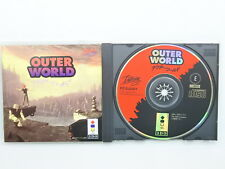 OUTER WORLD 3DO Real Panasonic Japan Game 3d