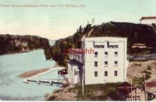 POWER HOUSE KAKABEKA FALLS FORT WILLIAM ONTARIO CANADA 1910