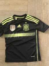 Spain jersey Youth 7-8y Away Shirt Adidas Soccer World Champions 2010