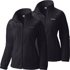 "New Womens Columbia ""Benton Springs"" Full Zip Fleece Jacket Sweaters"