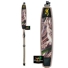 BROWNING WATERFOWL NEOPRENE SHOTGUN GUN SLING WITH SWIVELS REALTREE MAX-5 CAMO