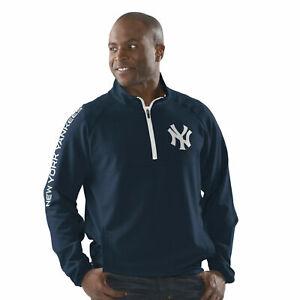 New York Yankees Men's G-III Sports Flexibility Half Zip Jacket - Navy