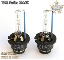 2x D2S Bulbs Xenon 8000K Ice Blue Replacement Headlights VW BMW MERCEDES AUDI