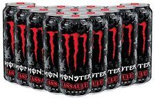 Monster Energy Drinks Assault 12 X 500ml Case
