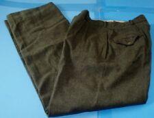 Vintage 1952 Wool Army Military Pants Green 30x29