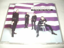 WET WET WET - IF I NEVER SEE YOU AGAIN - UK CD SINGLE