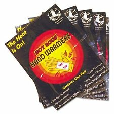 5 Pairs of OccuNomix Hot Rods Hand Warmers - 110010R New In Package!