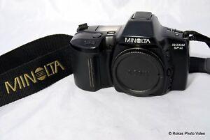 Konica Minolta Maxxum Spxi 35mm Film SLR Camera auto focus AF