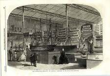 1862 The Admiralty Department Of The Naval Court Exhibition