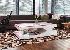 Rechteckige moderne Couchtische aus MDF/Spanplatten in Holzoptik