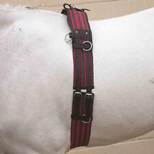 Hy Adjustable Saddlery Lunge Roller - Blue Red All Sizes