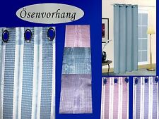Ösenvorhang Ösen Gardine Stores Dekoschal Fertiggardine 140x245 NEU