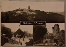 AK  Das Kyffhäuser Denkmal mit Einzelfotos