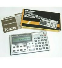 Very Rare & HTF Sharp PC-1270 Pocket Computer # 5873